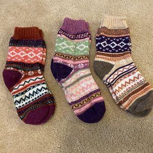 Comfy cabin socks